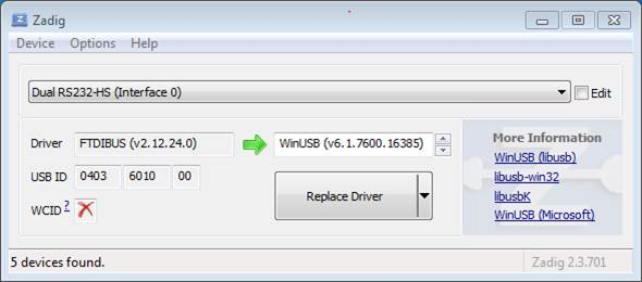 Configure WROVER JTAG Interface — ESP-IDF Programming Guide